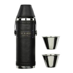 Ted Baker - Mens Hip Flask and Cups Set