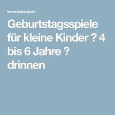 Geburtstagsspiele für kleine Kinder ❘ 4 bis 6 Jahre ❘ drinnen You will get a sizable family room with little hall decor ideas. When you have a corridor with a small square meter, your designing ideas Birthday Games, Baby Birthday, Birthday Party Themes, Birthday Stuff, Kindergarten Portfolio, Diy And Crafts, Crafts For Kids, Star Wars Party, Frozen Party