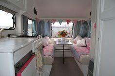 Shabby Chic Style 4 Berth Elddis touring Caravan must see Shabby Chic Caravan, Vintage Caravan Interiors, Gypsy Caravan, Vintage Caravans, Shabby Chic Style, Caravan Makeover, Caravan Renovation, Trailer Interior, Camper Interior