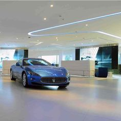 'Running lights' Maserati VIP Lounge by DEDODESIGN architects in Beijing, China. #morfae   #dedodesignarchitects   #maserati   #interiordesign