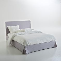 Funda integral cabecero + marco cama 100% algodón Walla Decoration, Mattress, Bed, Furniture, Home Decor, Houses, Headboards, Style, Slipcovers