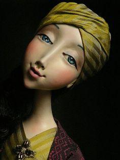 "авторская кукла ""Сказка Шахерезады"" - Коллекционные куклы, Куклы и игрушки. Ярмарка Мастеров - ручная работа, handmade Eugenia Valkova"