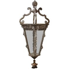 French Wood Lantern | From a unique collection of antique and modern lanterns at https://www.1stdibs.com/furniture/lighting/lanterns/
