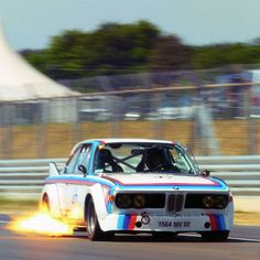 Lucky timing on this BMW 3.0 CSL