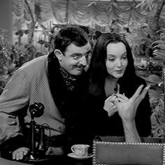 The Addams Family The Addams Family 1964, Addams Family Tv Show, Family Tv Series, Gomez And Morticia, Morticia Addams, Charles Addams, The Originals Show, Beetlejuice, My Idol