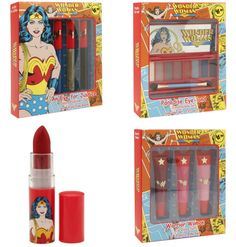 The Wonder Woman Beauty Collection Arrives At Walgreens