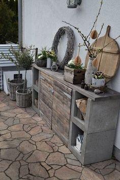 Outdoor Projects, Garden Projects, Garden Deco, Outdoor Living, Outdoor Decor, Patio Design, Backyard Patio, Garden Furniture, Pallet Furniture