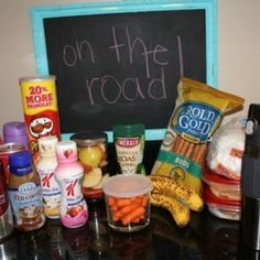 Packing Food for Road Trips & 6 Bonus Travel Tips- Nice tips so that you aren't blowing all your money on gas station snacks or fast food
