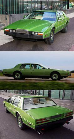 Classic Car News Pics And Videos From Around The World Aston Martin Lagonda, Aston Martin Vantage, Jaguar Sport, Bmw Sport, Sport Cars, Sports Cars Lamborghini, Porsche Sports Car, Aston Martin Sports Car, Mercedes Sport