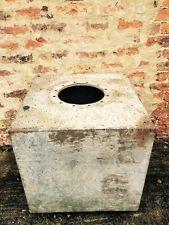 Large Galvanised Water Tank Planter Pot Plant Shrub Vintage Antique