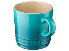 Le Creuset Stoneware Cappuccino Cup 200 ml Teal Large Coffee Mugs, Coffee Cups, Tea Cups, Cappuccino Cups, Espresso Cups, Le Creuset Stoneware, Best Espresso, Cup And Saucer Set, Mugs Set