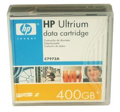 HP C7972A LTO-2 Backup Tape Cartridge (200GB/400GB)