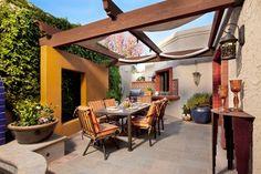 patio living - mediterranean - patio - phoenix - Michael Woodall photographer