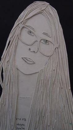Cardboard Sculpture, Paper Mache Sculpture, Cardboard Art, Cardboard Relief, High School Art Projects, Classroom Art Projects, Painting Lessons, Art Lessons, 7th Grade Art