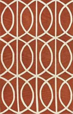 "Dalyn Rugs Infinity IF5 PUMPKIN Pumpkin 5' 0"" 7' 6"" Area Rug"