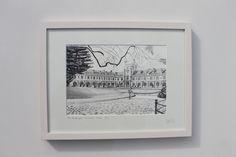 The Quadrangle , University College Cork University College Cork, Irish Art, Art For Sale, Dublin, Framed Prints, Drawings, Painting, Decor, Painting Art