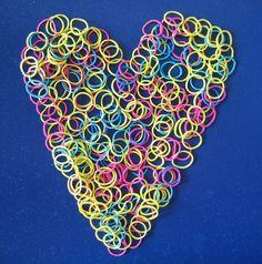 Zawsze mów  że kochasz #iloveyou #heart #serce #kocham : Kolekcja poniedziałkowych serc Page Hodell Monday Hearts 274
