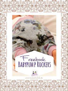 Babypump Rockers - ein MUSS für jeden Kinderkleiderschrank :-) Die Hose ist eine locker sitzende Pumphose, die du in 10 Minuten nähen kannst. Sie ist absolut anfängertauglich und durch das Aussparen von Ponaht und vorderer Schrittnaht super für die ersten Babytage. Das Schnittmuster ist verfügbar in den Größen 38 bis 80 (Doppelgrößen)