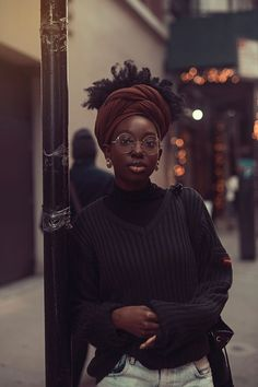 Curly Hair, Glasses, Black Clothes, Black Girl, Black Girl Fashion Source by whirljasmine Black Girl Magic, Black Girls, Black Women Style, Black Girl Style, Black Women Fashion, Curly Hair Styles, Natural Hair Styles, Black Girl Aesthetic, Blonde Aesthetic