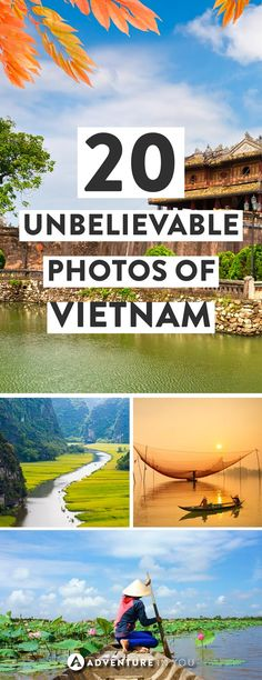 Vietnam Travel | Looking for some inspiration? Check out these incredible photos of Vietnam to help you plan your trip