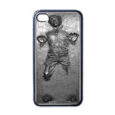 Star Wars Han Solo Frozen in Carbonite iPhone 4 Case by AlphaCase, $15.00