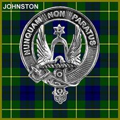 Johnston Clan Crest Scottish Cap Badge CB02