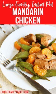 Instant Pot Mandarin Chicken Mandarin Chicken, New Recipes, Dinner Recipes, Everyday Food, Meals, Dinners, Instant Pot, Dairy Free, Chicken Recipes