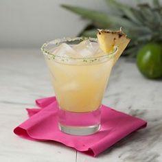 Skinny Pineapple Margaritas  - EatingWell.com Pinapple Margarita, Pineapple Juice, Pineapple Delight, Pineapple Recipes, Lime Juice, Mojito, Orange Juice, Party Drinks, Fun Drinks