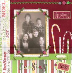 Christmas Cousins - Scrapjazz.com