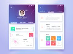 Talent Portal ios App http:& Mobile App Design, Mobile App Ui, Dashboard Mobile, Graphisches Design, App Ui Design, Page Design, House Design, Android Design, Android Ui