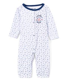 Loving this Blue Baseball Convertible Sleep 'N' Play Playsuit - Infant on #zulily! #zulilyfinds