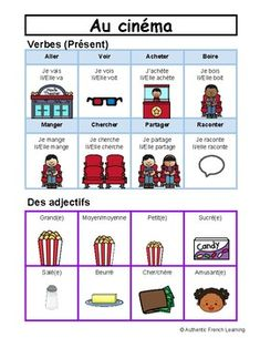 Au cinéma mur de mots portable - At the Movies French File Folder Word Wall Portable Word Walls, French Basics, File Folder, Writing Activities, Teaching, Words, Wall, Handwriting Activities, Learning