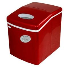 Sams Countertop Ice Maker : Amazon.com: NewAir AI-100R 28-Pound Portable Icemaker, Red: Appliances