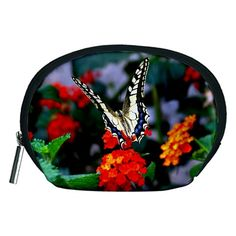 BUTTERFLY+FLOWERS+1+Accessory+Pouches+(Medium)++Accessory+Pouch+(Medium)