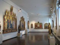 Gallery in the Pinacoteca Nazionale di Siena