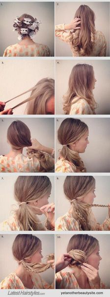 編み込みヘアアレンジ・ヘアスタイル 分かりやすい「やり方」画像集 - NAVER まとめ