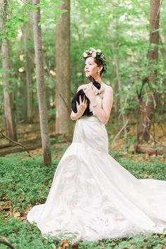My Alice In The Woods Wedding Photographed By Kelly Sweet