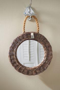 €49,95 Rustic Rattan Mirror Round #living #interior #rivieramaison