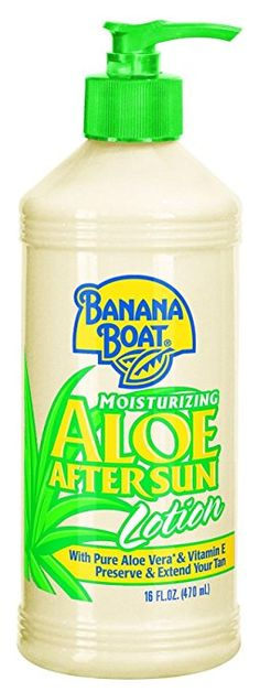 Banana Boat Aloe Vera Sun Burn Relief Sun Care After Sun Lotion - 16 Ounce ** Awesome product. Click the image : Body Care Burn Relief, Sun Lotion, Tanning Cream, Banana Boat, After Sun, Aleta, Aloe Vera, Body Care, Banana