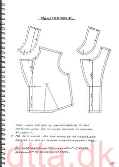 SYSTEM DTTA: PAGE 75 | Tailoring - patternmaking, cutting and sewing | THE DESIGN AND TECHNICAL TAILORING ACADEMY | TILSKÆRERAKADEMIET I KØBENHAVN (KBH)