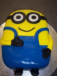Minion Cake! 10th Birthday Cakes For Girls, 10 Birthday Cake, Birthday Ideas, Birthday Parties, Minion Cakes, Minions, Sesame Street Party, Celebrate Good Times, Girl Cakes