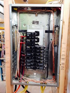 Bathroom electrical panel for our tiny house: radiant floor ...
