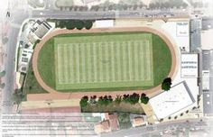 Le futur stade Jean-Jaures