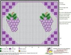 Grapes placemat