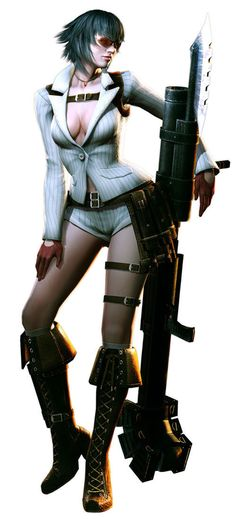 Devil May Cry, The Human Damsel that causes demons distress