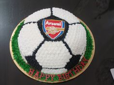 Image detail for -... Cake Arsenal Soccer Ball Birthday Cakes – Pictures of Birthday Cakes