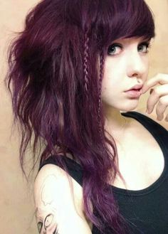 This hair is a little bit perfect. Just saying. So is her medusa piercing. Want one so bad.
