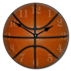@rosenberryrooms is offering $20 OFF your purchase! Share the news and save!  Slam Dunk Basketball Kids Wall Clock #rosenberryrooms
