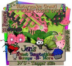 Sweet Temptations: Blog Trains