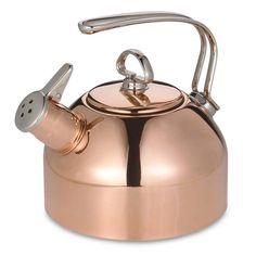 product image for Chantal® 1.8-Quart Copper Tea Kettle